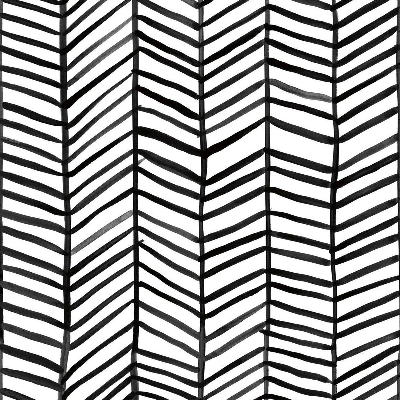 Roommates Herringbone Self Adhesive Wallpaper Black Peel And Stick Wallpaper Herringbone Wallpaper Self Adhesive Wallpaper