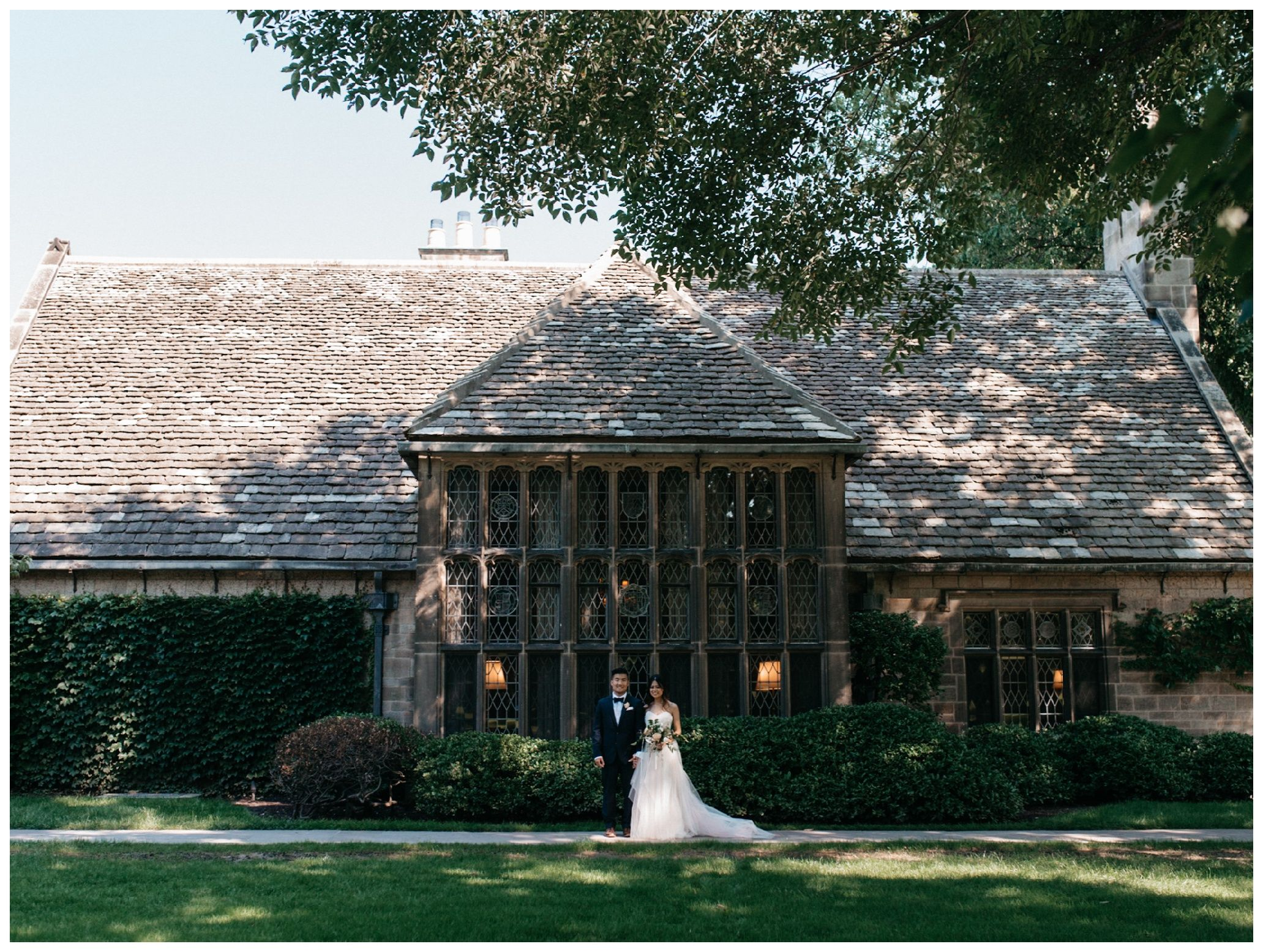 Edsel Eleanor Ford House Wedding Detroit Michigan