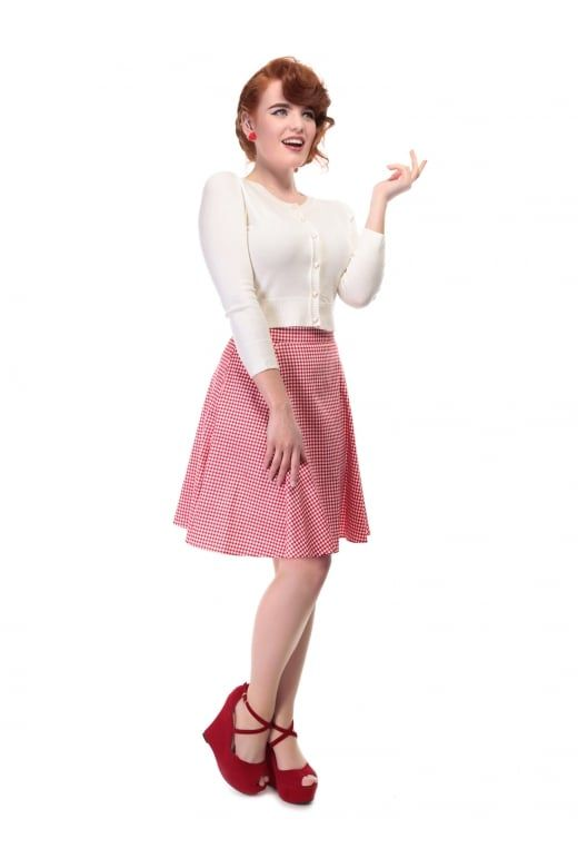 0b7bb3e9a1ce9c Mainline Tammy Gingham Skirt | Clothes - Skirting the Issue ...