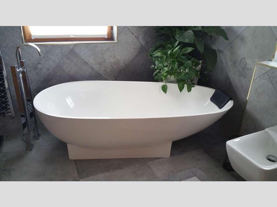 Freistehende Badewanne Elba Badewanne freistehend Badezimmer - schöne badezimmer ideen