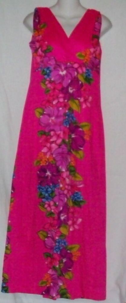 Hawaiian Dress Size Small Skirts n Blouses Speciality Shop Honolulu #SkirtsnBlouses #TropicalHawaiian #SummerBeach