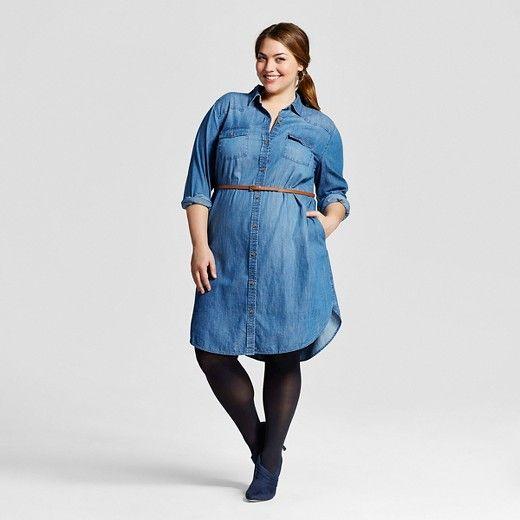 Shirt Dress Plus Size - Best Image Ficcio.Net