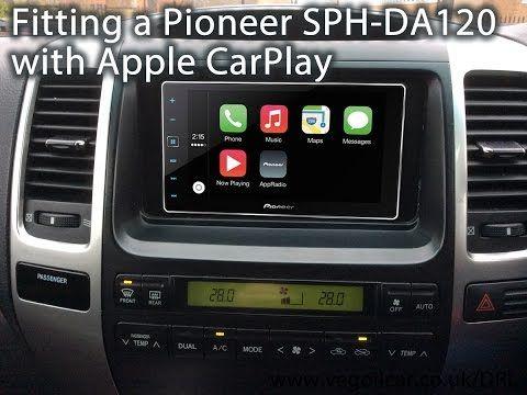 Fitting a Pioneer SPHDA120 AppRadio with Apple CarPlay