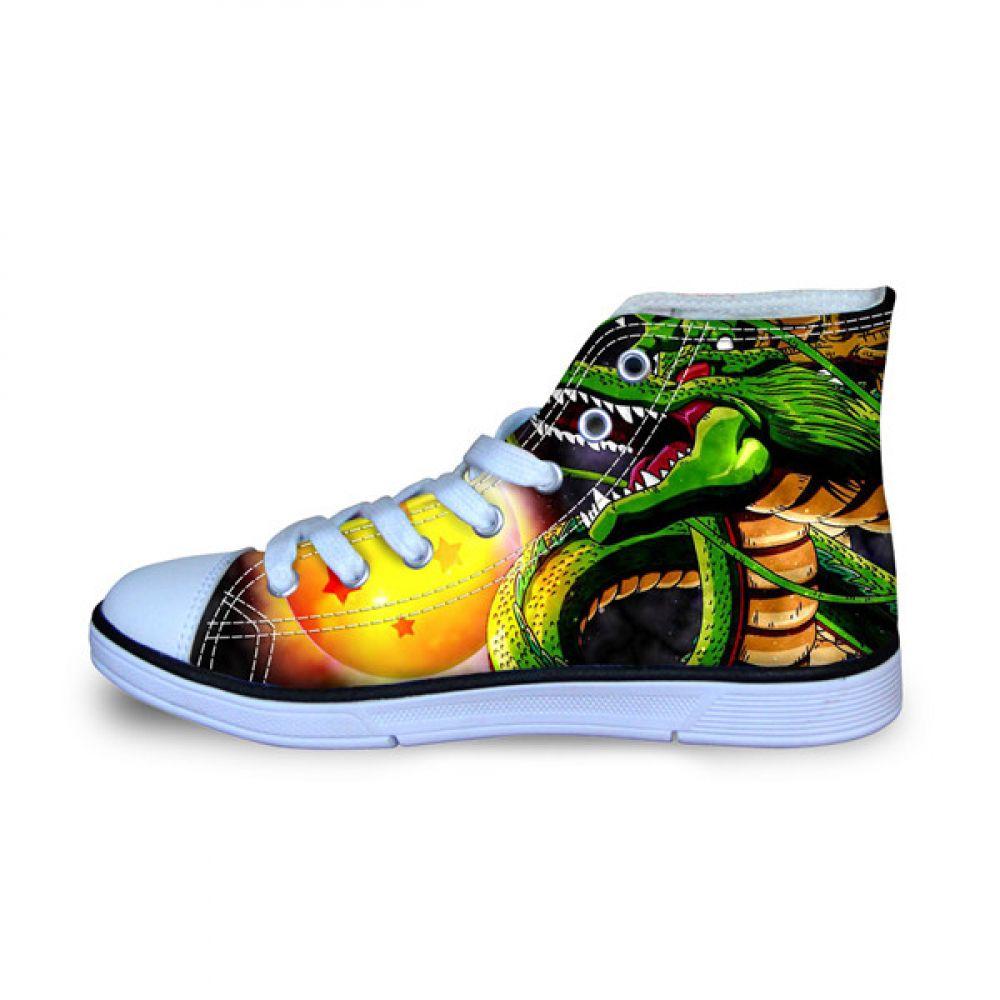 Dragon Ball Shenron Canvas Shoes