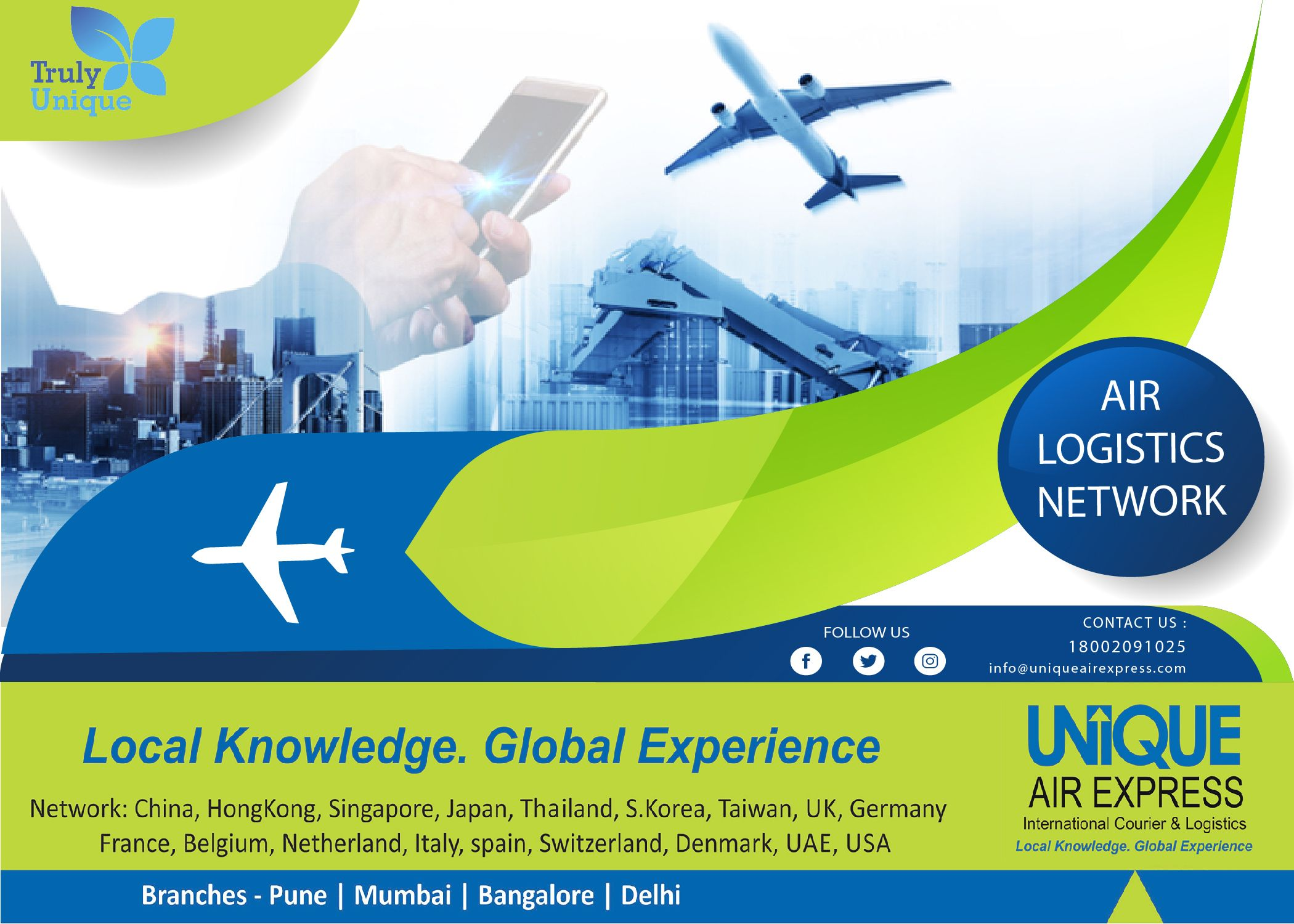 Unique Air Express provides Best Solutions in