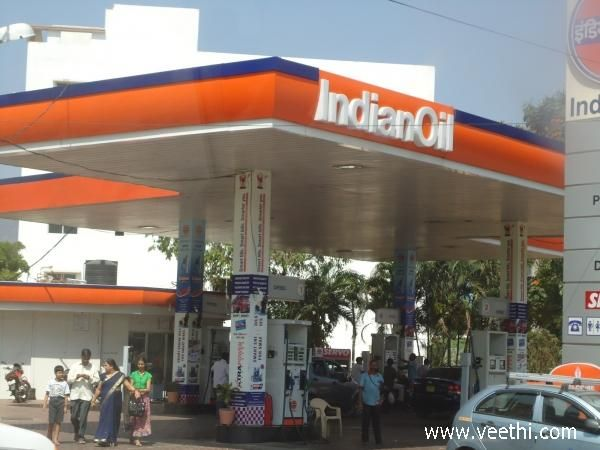 Petrol Bunk On The Way To Tirupati Bunks Petrol Tirupati