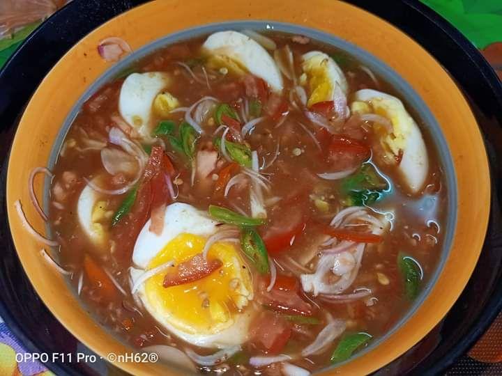 Resepi Telur Rebus Air Asam Viral Simple Sangat Tapi Gerenti Makan Bertambah Telur Rebus Telur Makanan