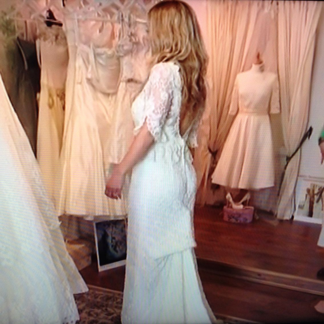 Beautiful Dress From Don't Tell The Bride: Rosie And Dave