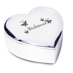 Bridesmaid Gifts - Bridesmaid Heart Trinket Present | Vivabop - www.vivabop.co.uk