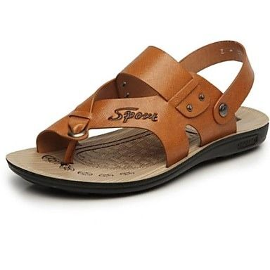 Explore Leather Men, Men's Shoes and more! Specifications Gender Men's Shoes  Category Sandals Occasion Casual Styles Comfort Heel ...
