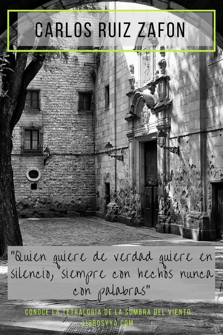 Cementerio De Los Libros Olvidados La Sombra Del Viento 1 La Sombra Del Viento Carlos Ruiz Zafon Frases Cómo Ser Feliz