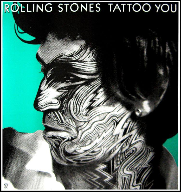 Rolling Stones Tattoo You Keith Richards By Corriston