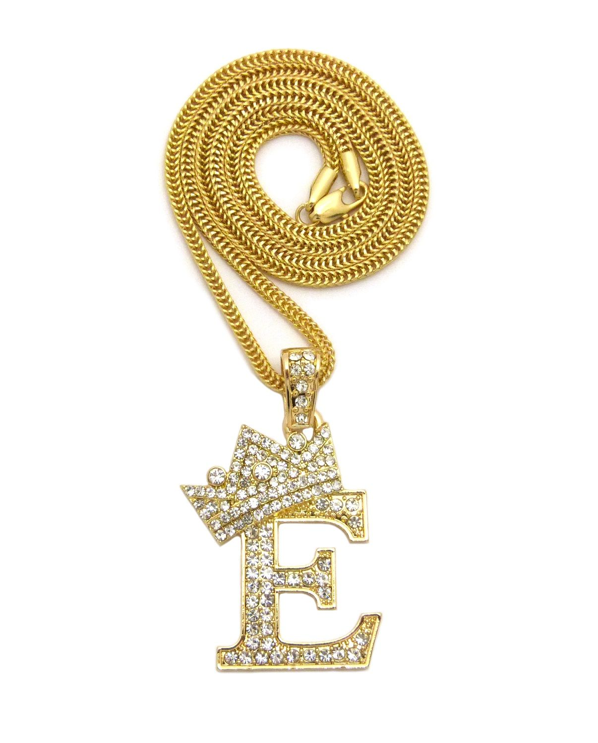 Iced out king e pendant 24 boxcubanropefox chain hip hop iced out king e pendant 24 boxcubanropefox chain hip hop necklace xz162g mozeypictures Gallery