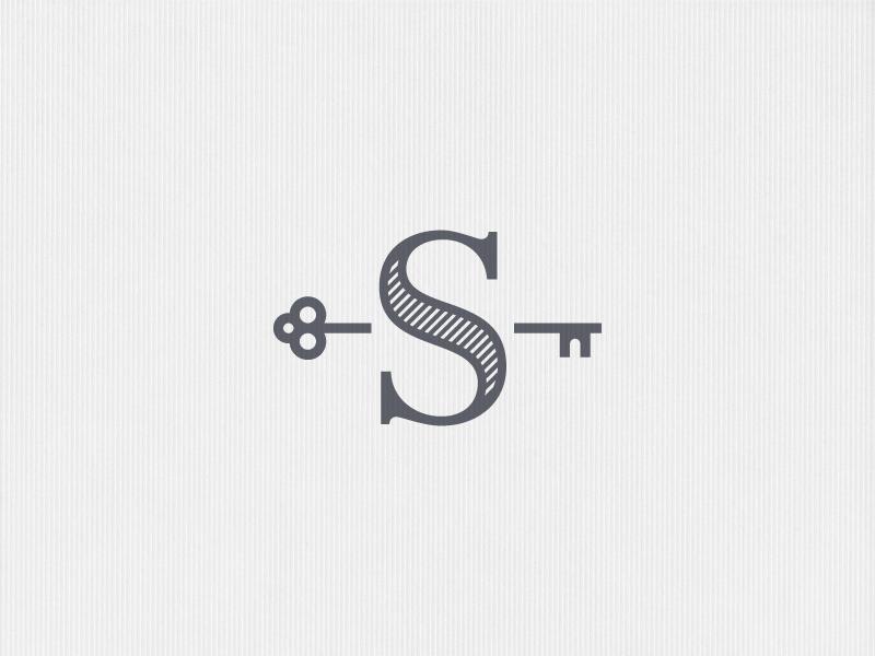 S key Real estate logo design, Minimal logo design, Logo