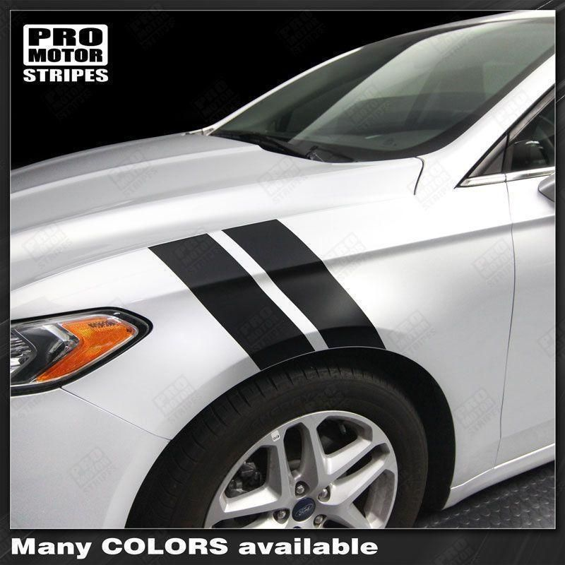 FORD FUSION Hash Side Accent Stripes Decals 2013 2014 2015 2016 2017 2018 2019