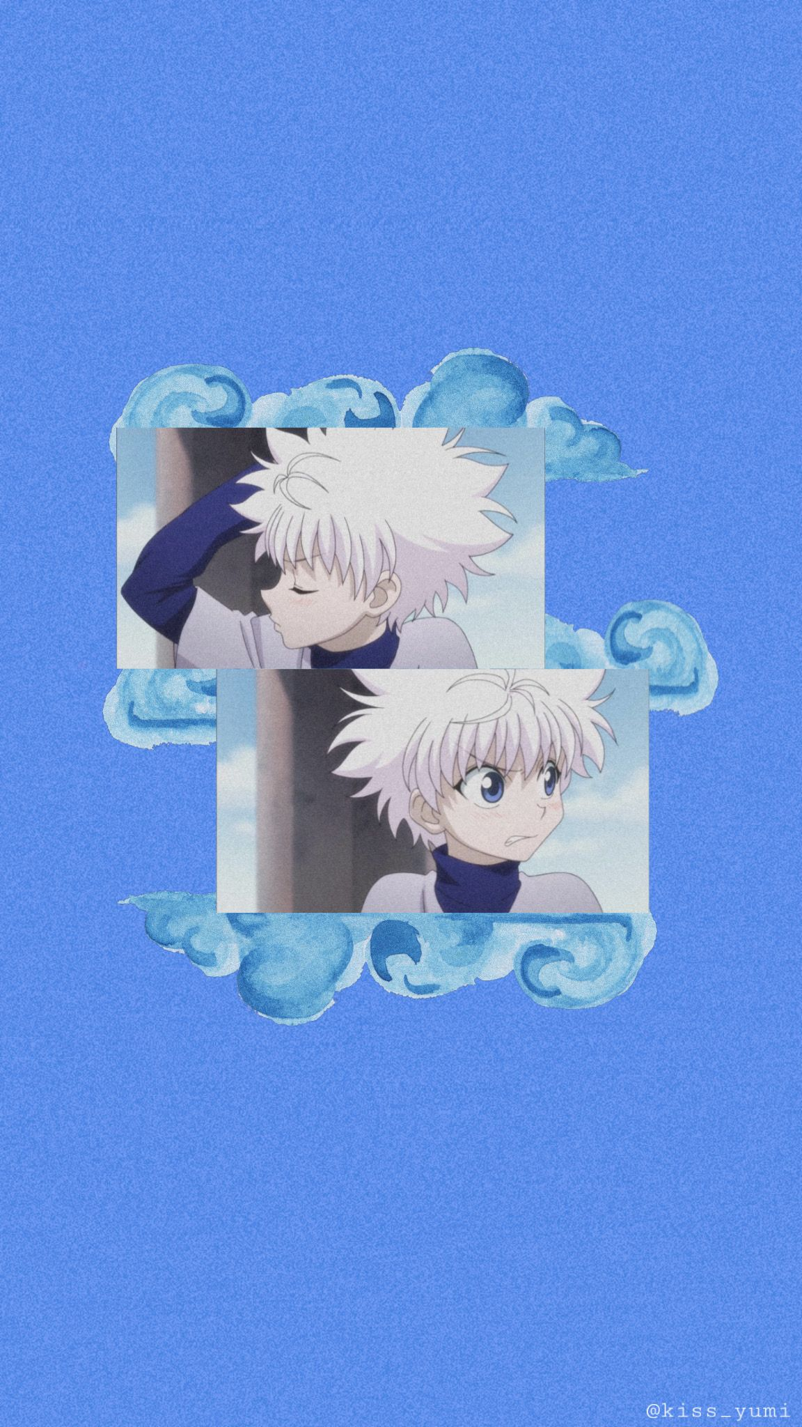 Killua In 2020 Cute Anime Wallpaper Anime Wallpaper Blue Anime