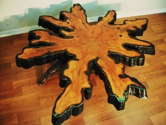 Merveilleux Cypress Tree Root Table