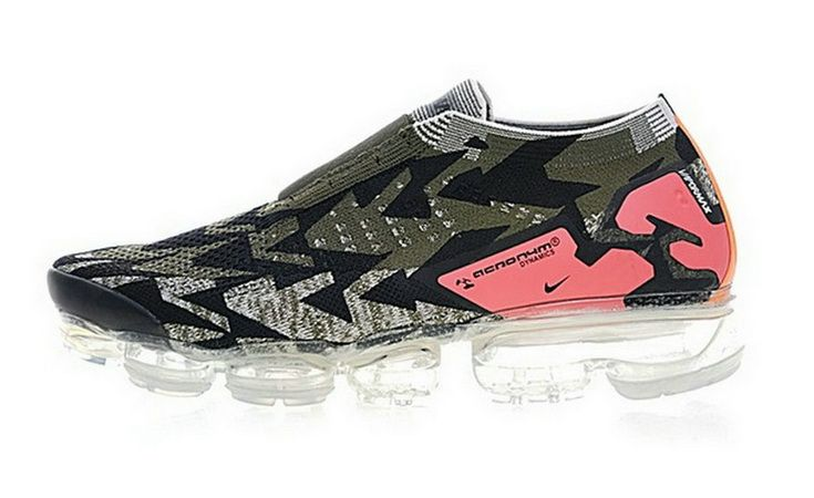sports shoes f0fb1 0ea97 Acronym X Nike Air Vapormax Moc 2 Sail Dark Stucco Cargo Khaki 2018 Newest  Shoe