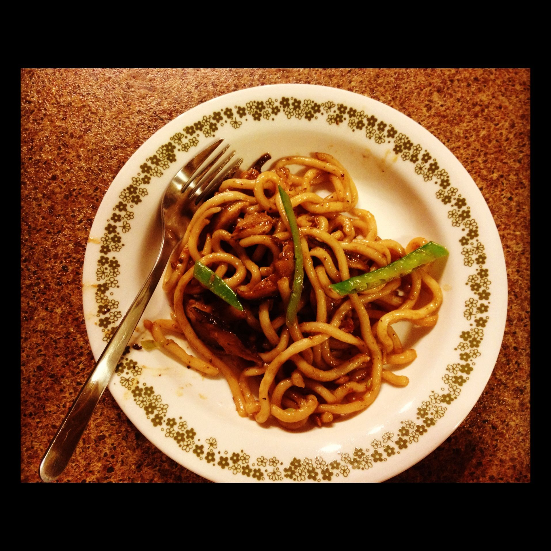 Recipes Chicken Udon Noodles: Udon Noodles With Shiitake & Chicken