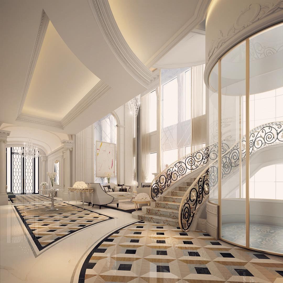 Entrance Lobby By IONS DESIGN - Dubai