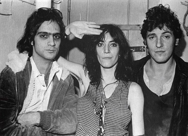ROCKING YEARS - Patti Smith with Bruce Springsteen