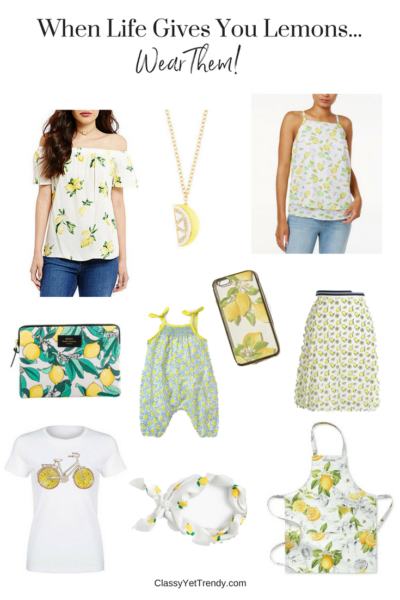 When Life Gives You Lemons…Wear Them!