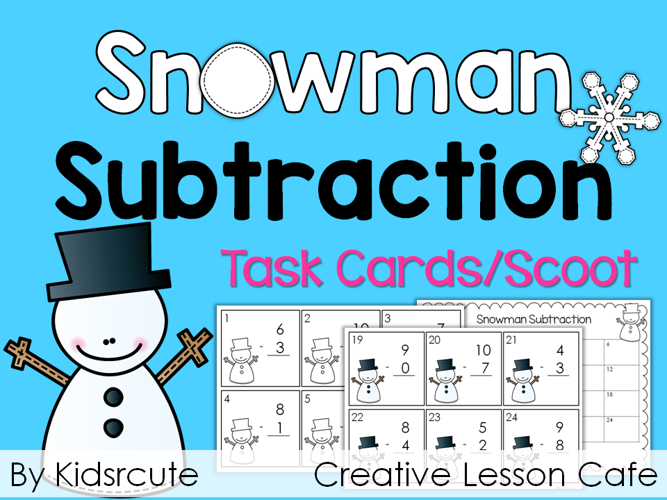 Creative Lesson Cafe: Math Fact Fluency Scoots | My TPT Store ...