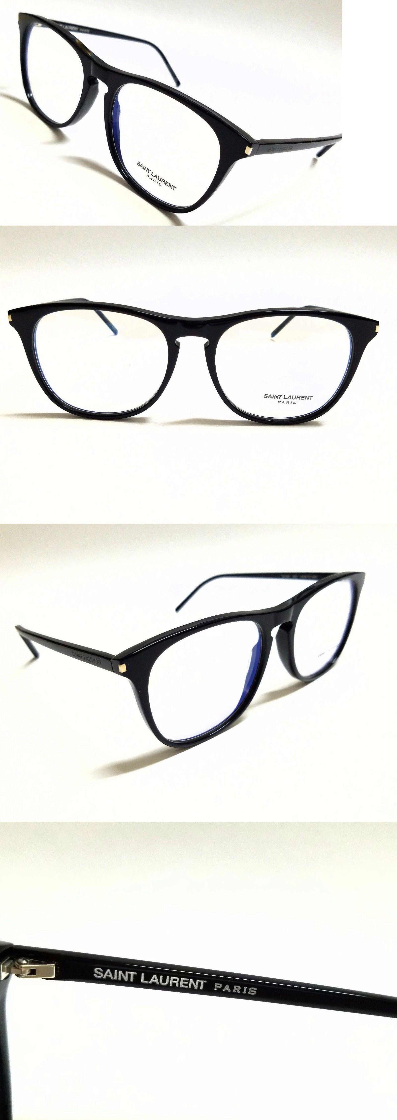 71e784661b2 Eyeglass Frames 180957  New Authentic Saint Laurent Sl 146 001 Black 53 17  145 Rx