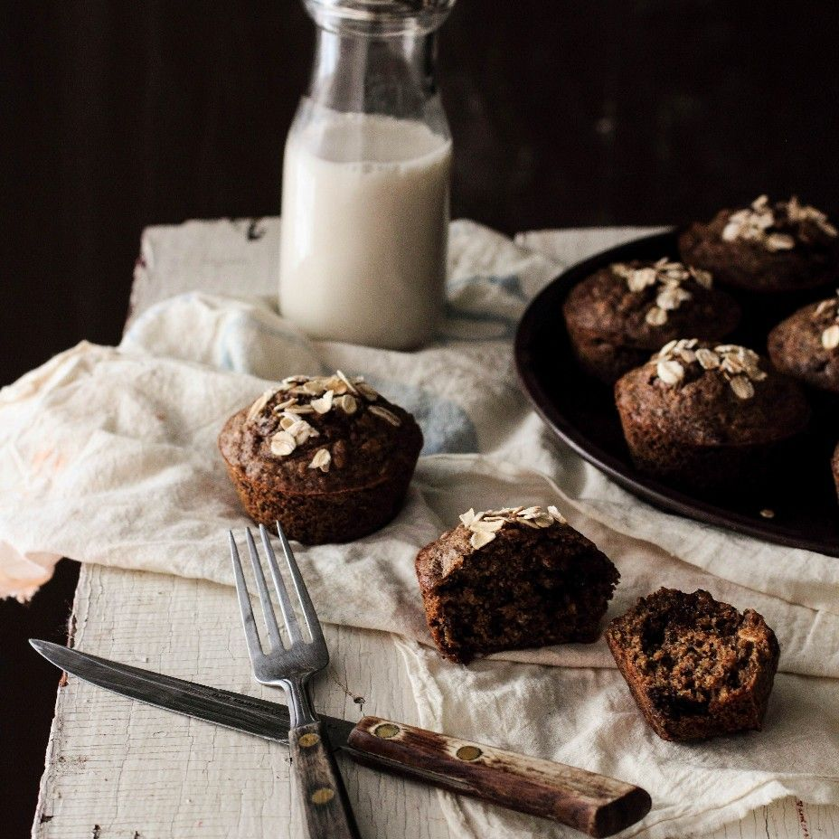 Pastry Affair | Chocolate Oatmeal Flaxseed Muffins #cookietips