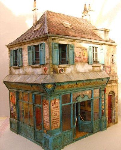miniature shop miniature world pinterest miniatur modellbau und geb ude. Black Bedroom Furniture Sets. Home Design Ideas