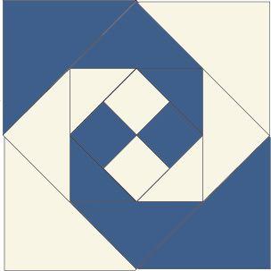 Snail's Trail Block, foundation-pieced quilt block pattern ... : free block quilt patterns - Adamdwight.com