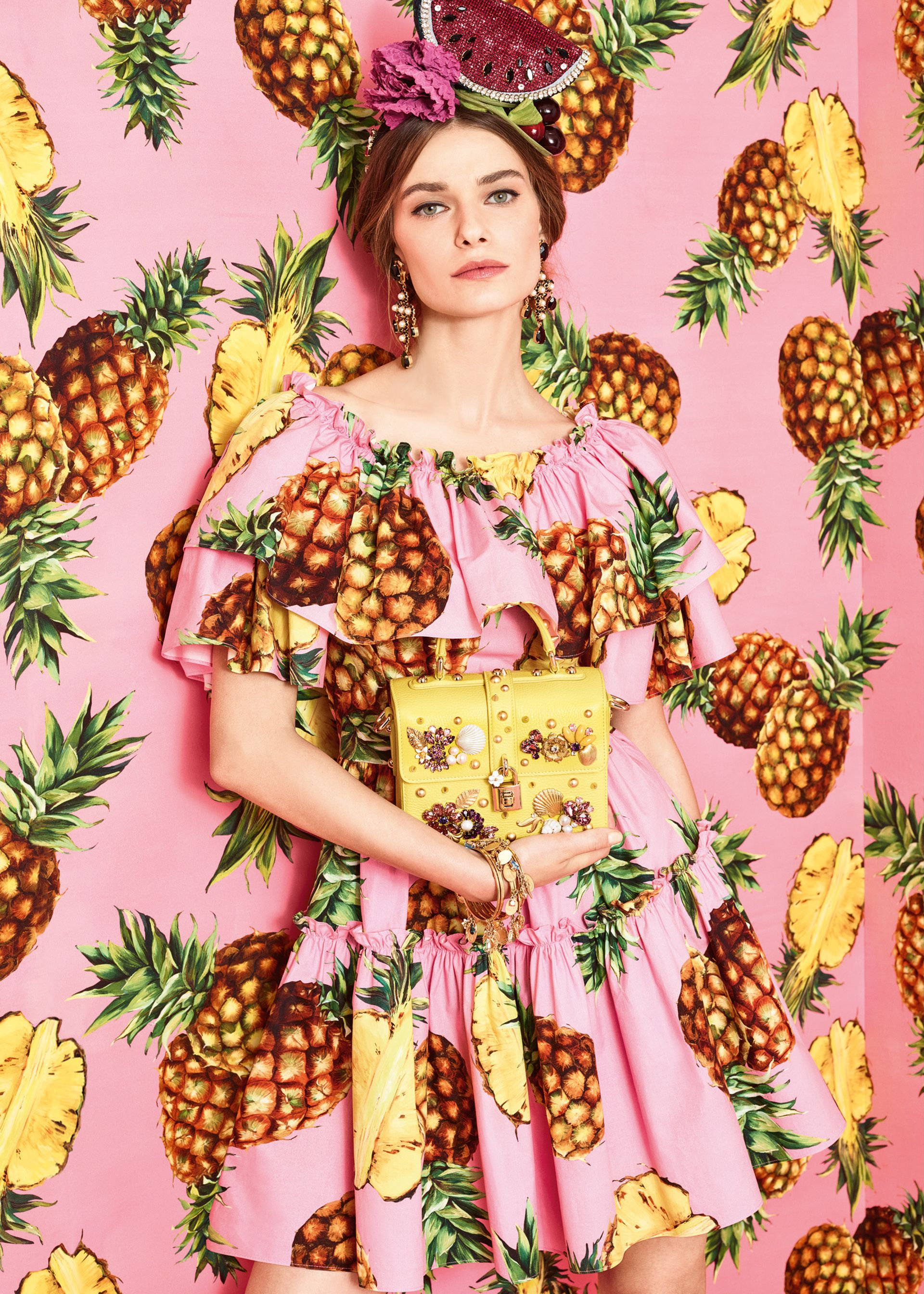 Discover the new Dolce&Gabbana Women\'s Tropical City Collection for ...