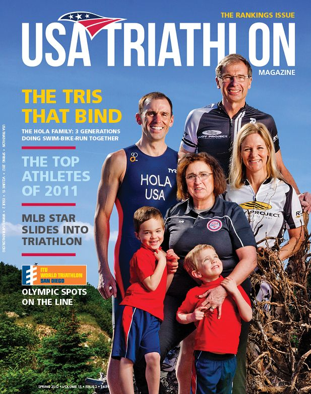 USA Triathlon Magazine - Spring 2012: Rankings Issue