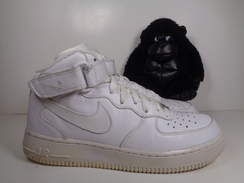 Men Nike Air Force One Mid Basketball shoes size 8 US 315123-111 2013
