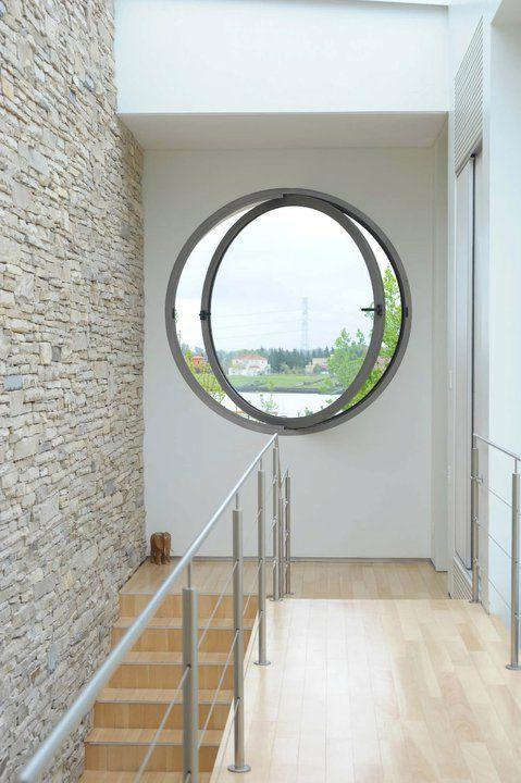 Casa agua detalle ojo de buey barrionuevo sierchuk arquitectas puertas ojo de buey - Puertas ojo de buey precio ...