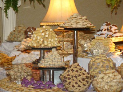 cookie table! :) We should work this in, just because it\'s awesome ...