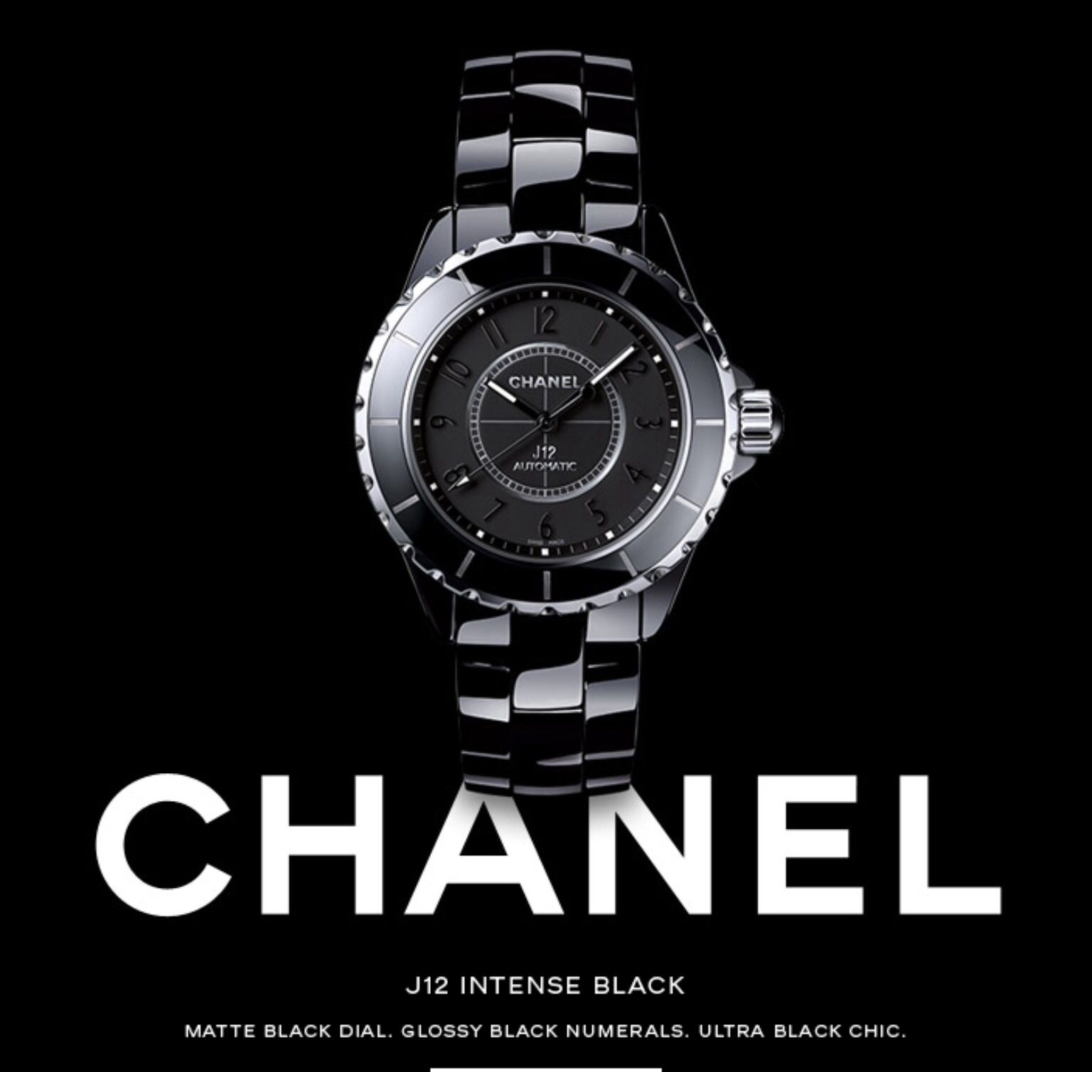 5ffbf4be Chanel | Accessories❤️ | Chanel watch, Chanel j12, Watches