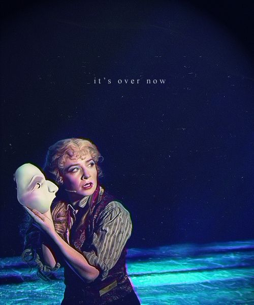 no, charlotte... it's never over... because Love Never Dies...