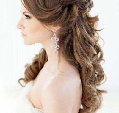 Elegant Wedding Hairstyles Fascinating Elegant Wedding Hair Half Up  Hairstyles Ideas For Me  Pinterest