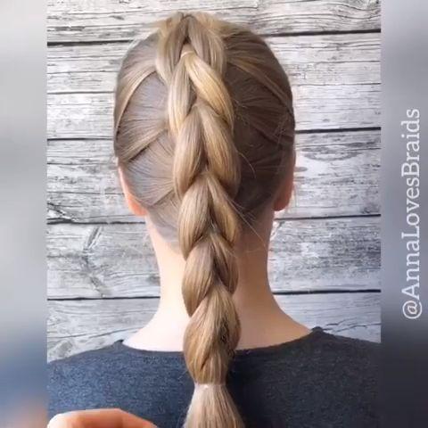 Hairvideo Hairtutorial Hairvids Braidinspo Check More At Https Www Haus3 Hausdekoration Xyz 2019 07 24 Hai Long Hair Styles Hair Styles Hair Braid Videos