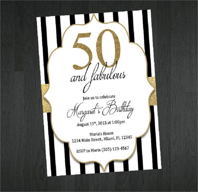 Handmade Birthday Invitation Card Vector Free Download