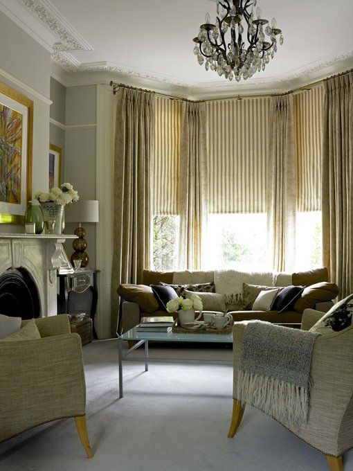 Curtains Ideas blinds and curtains for bay windows : 17 Best images about Window Ideas on Pinterest | French doors ...