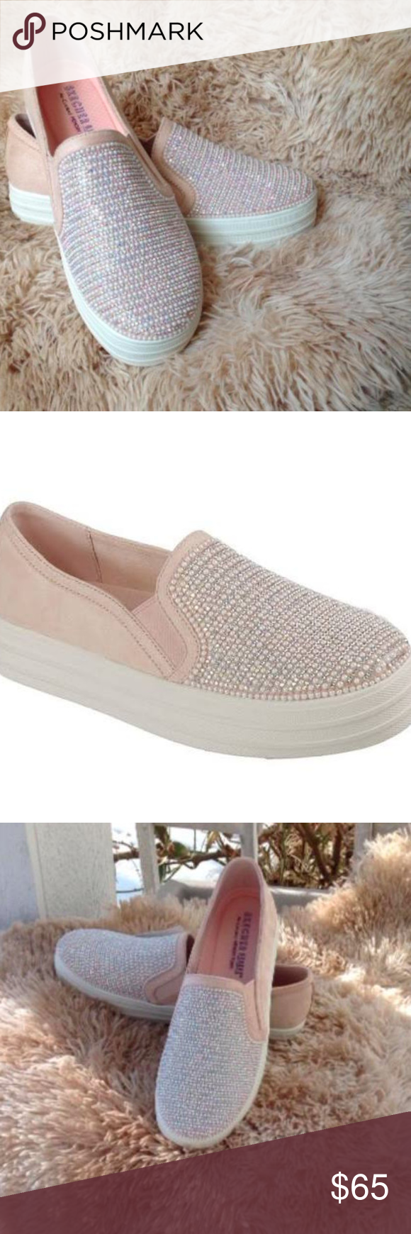 Skechers Double Up Shimmer Shaker Sneakers. Super cute and