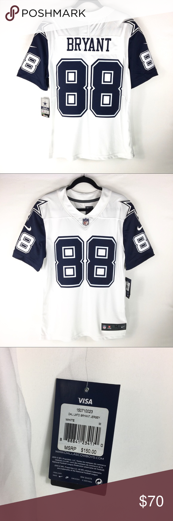 Nike On Field NFL Dallas Cowboys Dez Bryant Jersey Nike On Field NFL Dallas  Cowboys Dez 8eba79ce3