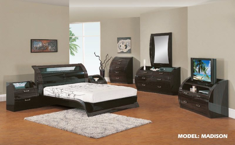 Global Furniture USA Madison Black Bedroom Set Stuff to Buy