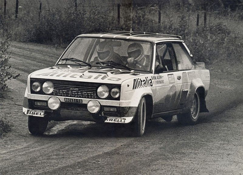 Markku Alen 1978 1000 Lakes Rally Fiat 131 Abarth Fiat Cars