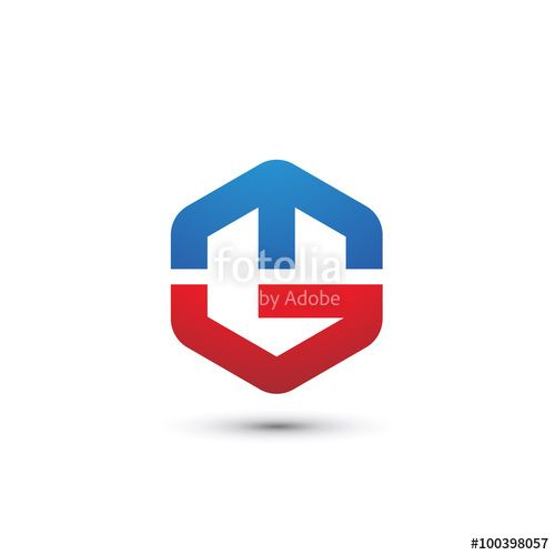 Hexagon Letter M G Logo Stock Image And Royalty Free Vector Files
