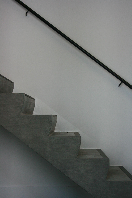 Declerck daels architecten trap betontrap for Interieur architecten