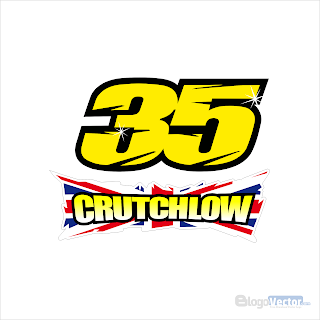 Cal Crutchlow 35 Logo Vector Cdr Vector Logo Cal Crutchlow Logos