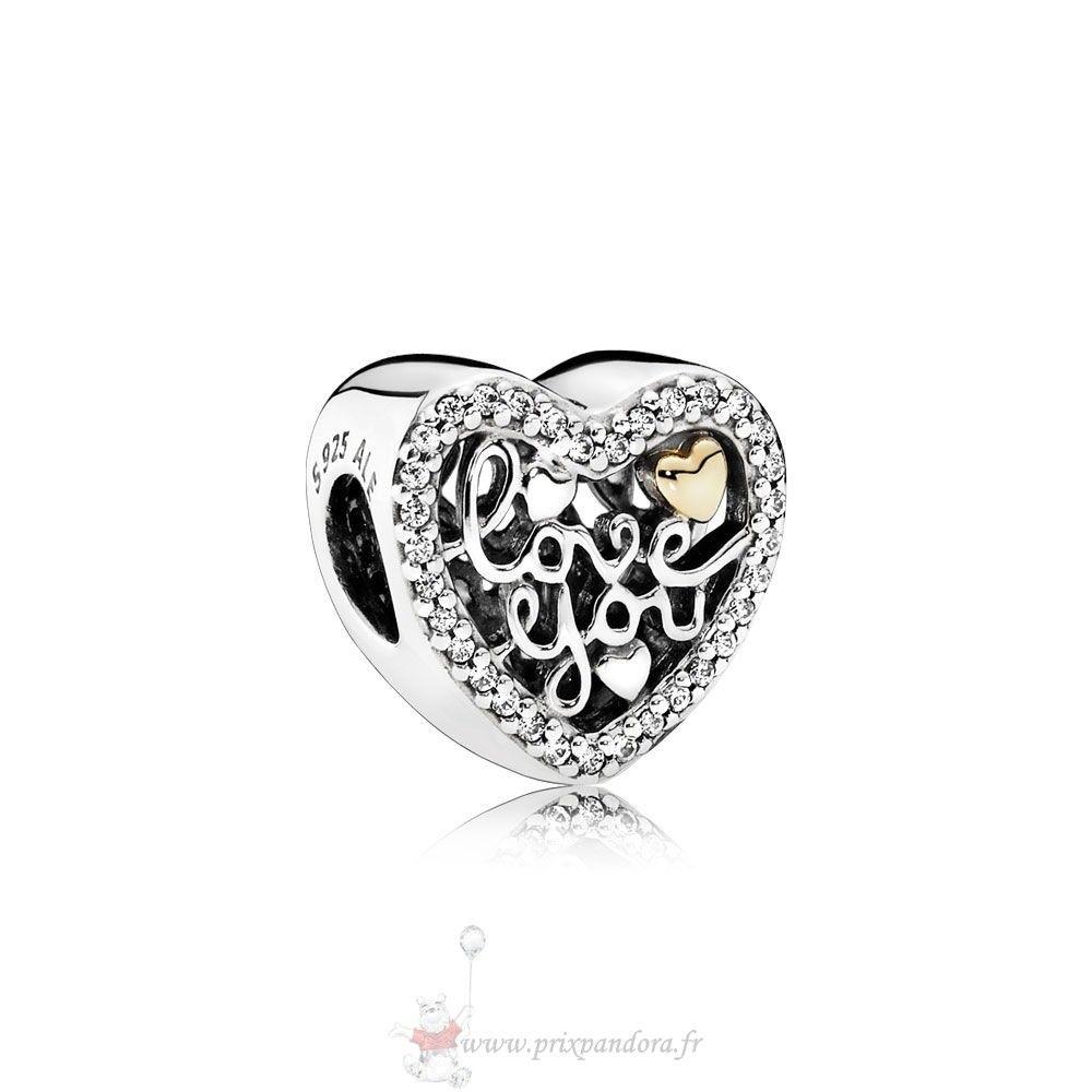 Les Répliques Pandora Pandora Saint Valentin Charms Amour Script ...